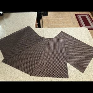 Pier One, 4  Tabella Basketweave Placemats